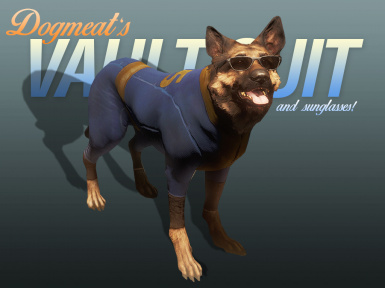 Dogmeat's Vault Suits (and Sunglasses) - All Vaults