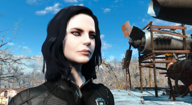 Selene (Pale Skin - Eyes - Vault Suit)