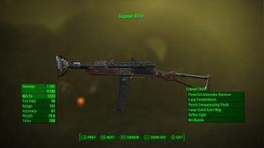 Gigaton Radium Rifle