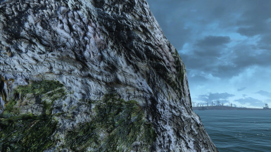 new coral cliffs
