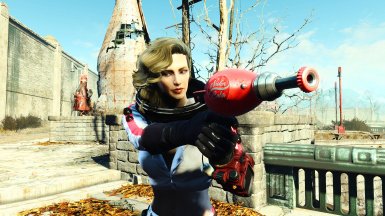 Functional Nuka-Girl Rocket Suit with Options