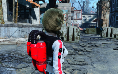 CBBE- Functional Nuka-Girl Suit with No Helmet Options -AWKCR - Armorsmith Extended