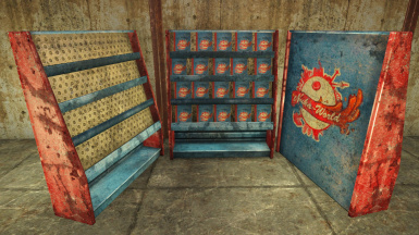Nuka-Cola Recipe Book Display Rack