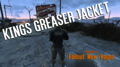 Kings Greaser Jacket - New Vegas Freeside