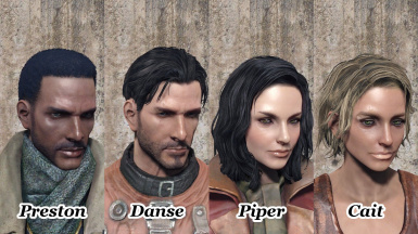 Companion and NPC's Face replacer All-in-one Pack at Fallout 4 Nexus