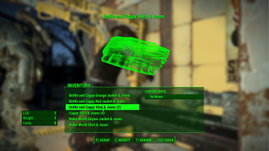 Ballistic Weave for Nuka World Clothes