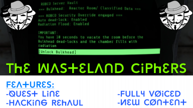 Wasteland Ciphers - (Quest Mod and Hacking Rehaul)