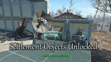 Settlement Objects Unlocked
