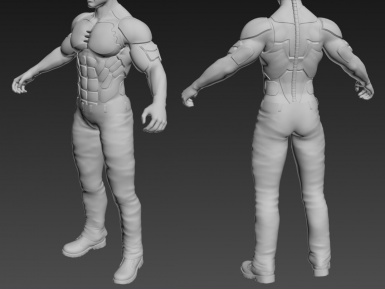 wip ARES Male - Briareos