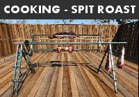 Cooking   Spit Roast