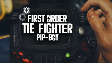 Star Wars TIE Fighter Pip-Boy (4K Pipboy)