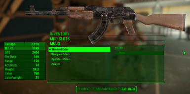 fallout 4 handmade rifle mod wooden stock for handmade rifle at fallout 4 nexus mods 7133