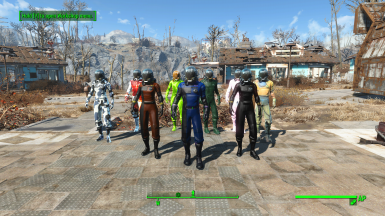 Morgans Space Suit Color Swaps - Creation Club Patch