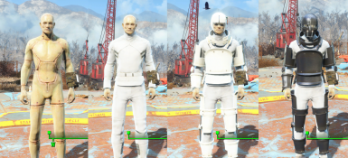 Craftable costumes - Base Game