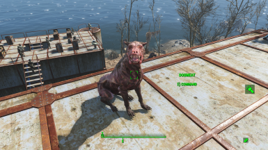Craftable dogmeat costume - Base Game