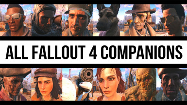 Better Companions - All In One at Fallout 4 Nexus - Mods and community