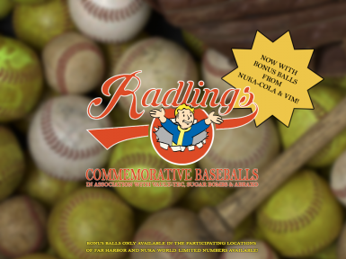 Radlings Commemorative Baseballs