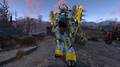 RadKnight Power Armor and Weapons