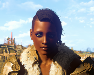 Evangeline LooksMenu and CBBE Presets Plus Glory Replacer