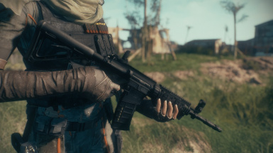 Modern Firearms damage reduction patches
