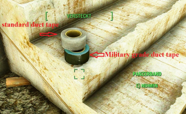 Military grade duct tape olive-green retex