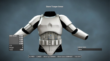 Fallout 4 Storm Trooper Armor