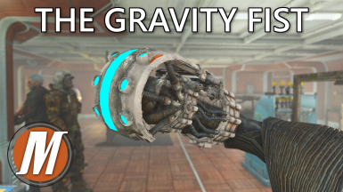 The Gravity Fist - A Heavy Unarmed Energy Weapon