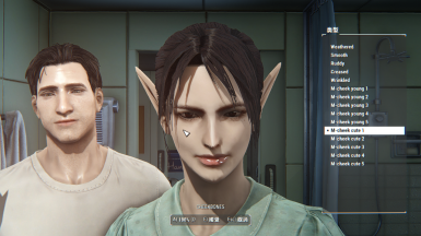 M-face (character creation extender) at Fallout 4 Nexus