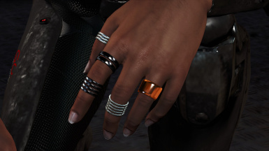 Rings on CBBE hands