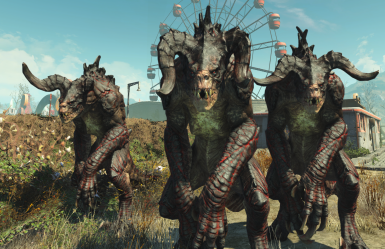 More Deathclaw Variety