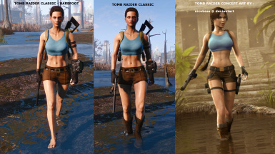 Tomb raider outfits evb cbbe ae awkcr at fallout nexus