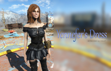 Yennefer Dress (CBBE Bodyslide)