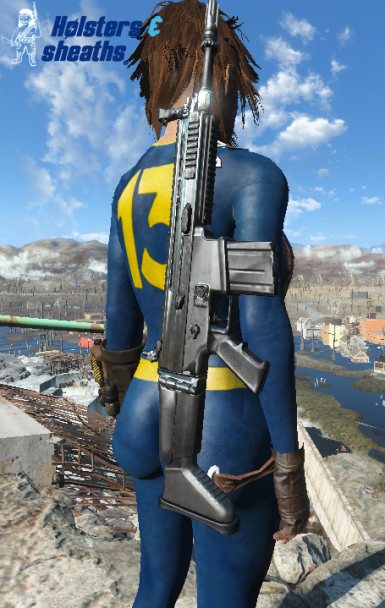 Holsters And Sheaths At Fallout 4 Nexus Mods And Community