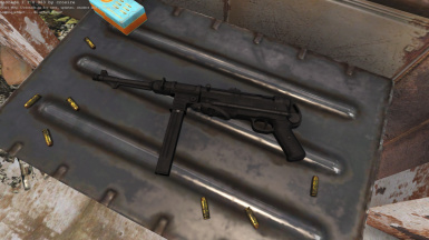 German Mp40 for the Commonwealth