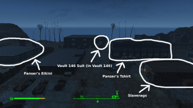 Clothing position in the new Worldspace