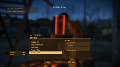 Purified Water Mod