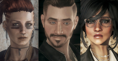Immersive Wastelanders - Cait Piper Curie MacCready Danse Preston Deacon and More - Replacers and Presets included