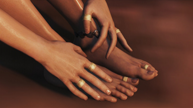 Wedding Rings, Anklets and Toe Rings