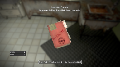 Nuka-Cola Recipes