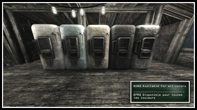 Rusty Fridge Retexture by CW Available for all colors