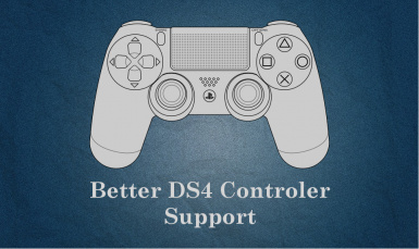 Better DS4 Controller Support at Fallout 4 Nexus - Mods and