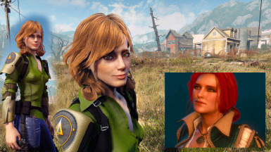 Ciri Yennefer Triss and others (presets) at Fallout 4 Nexus