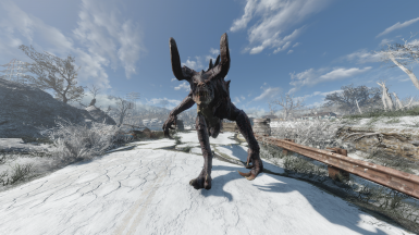 Quieter Deathclaw Footsteps