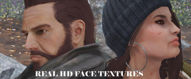 Real HD Face Textures 2k