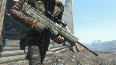 The Bozar - An Automatic Sniper Rifle from New Vegas