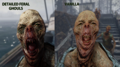 Detailed Feral Ghouls