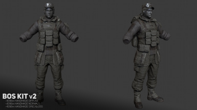 v2 Render Field Scribe Outfit and Cap