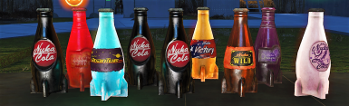 All Nuka-Cola Flavors for the Commonwealth