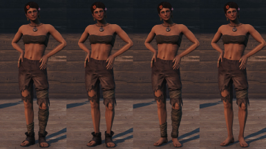 Clothing Of The Commonwealth - Mega Outfit Pack - (VANILLA