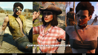 Clothing Of The Commonwealth - Mega Outfit Pack - (VANILLA-EVB-CBBE) (AWKCR-AE)